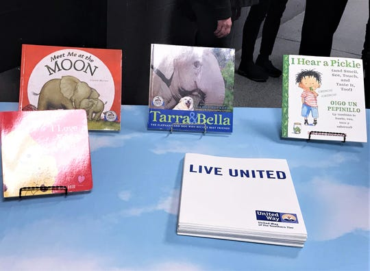 These are a few of the books that will be available to young children in Chemung and Steuben counties through the Dolly Parton Imagination Library.