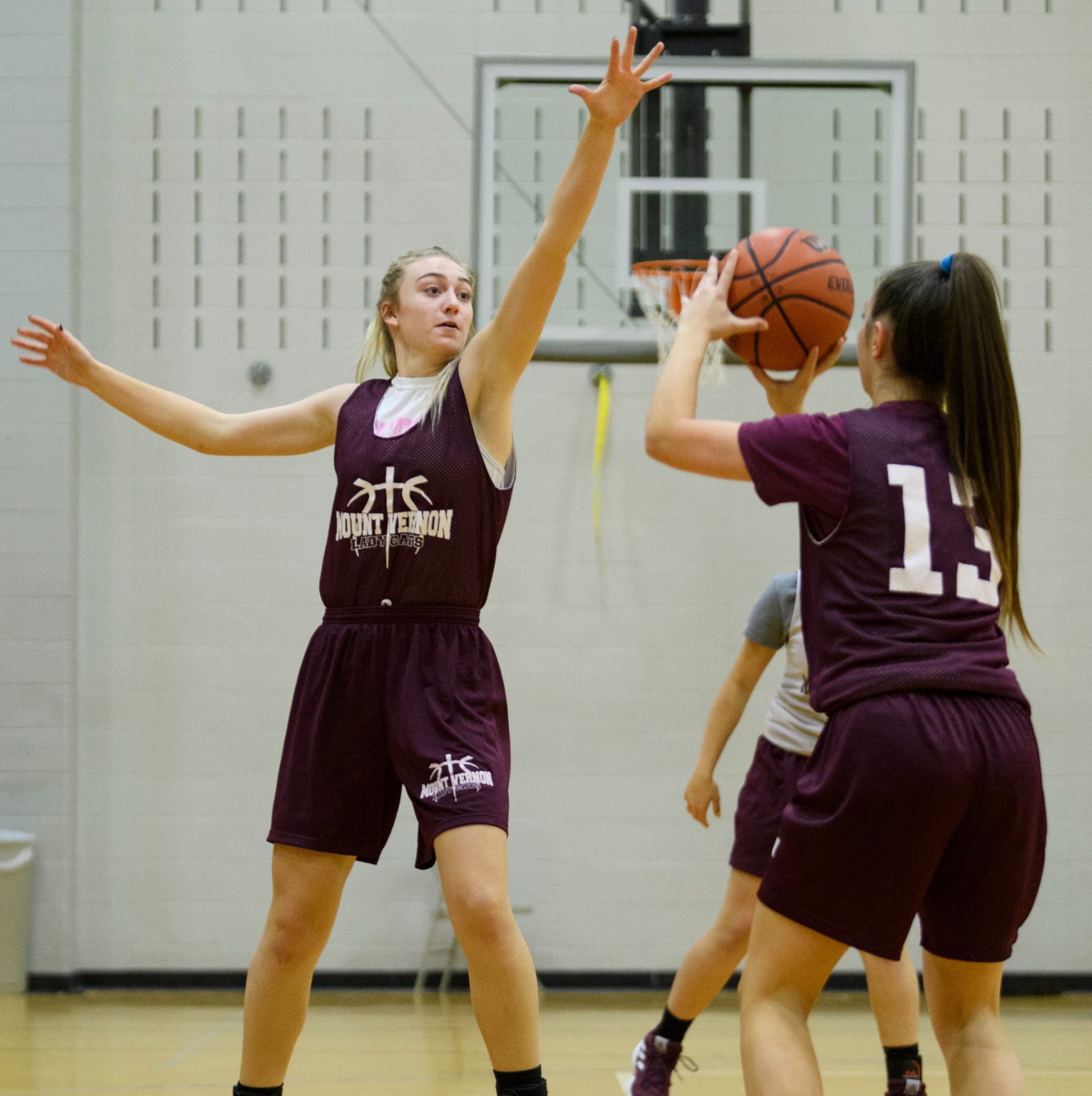 Like father, like daughter: Brooke Jackson is a warrior on the court for Mount Vernon