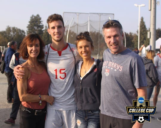 The Rudel family from left, Theresa, Jake, Rachael and Rod.