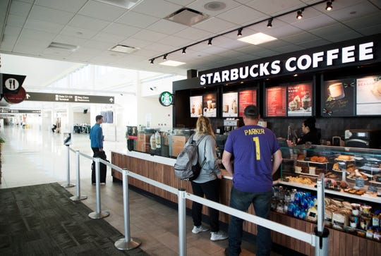 Southwest Florida International Airport has a new Starbucks Coffee in Terminal C.