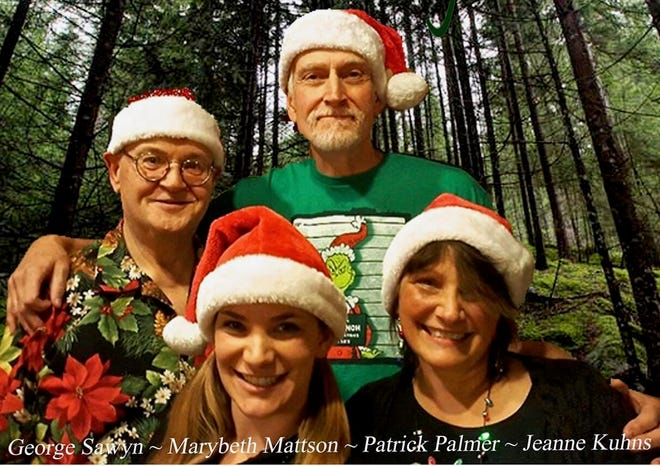 Small Forest members Jeanne Kuhns, Marybeth Mattson and Patrick Palmer will perform their annual Christmas concert with special guest George Sawyn on Dec. 21.