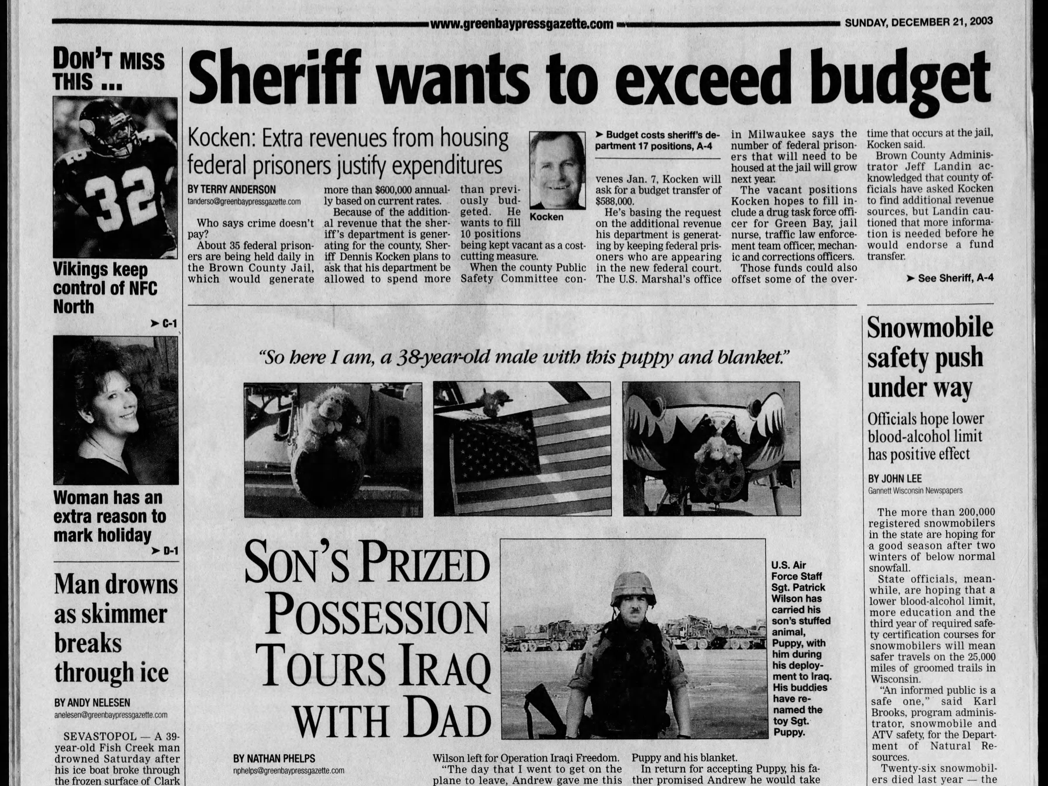 Today in History: Dec. 21, 2003