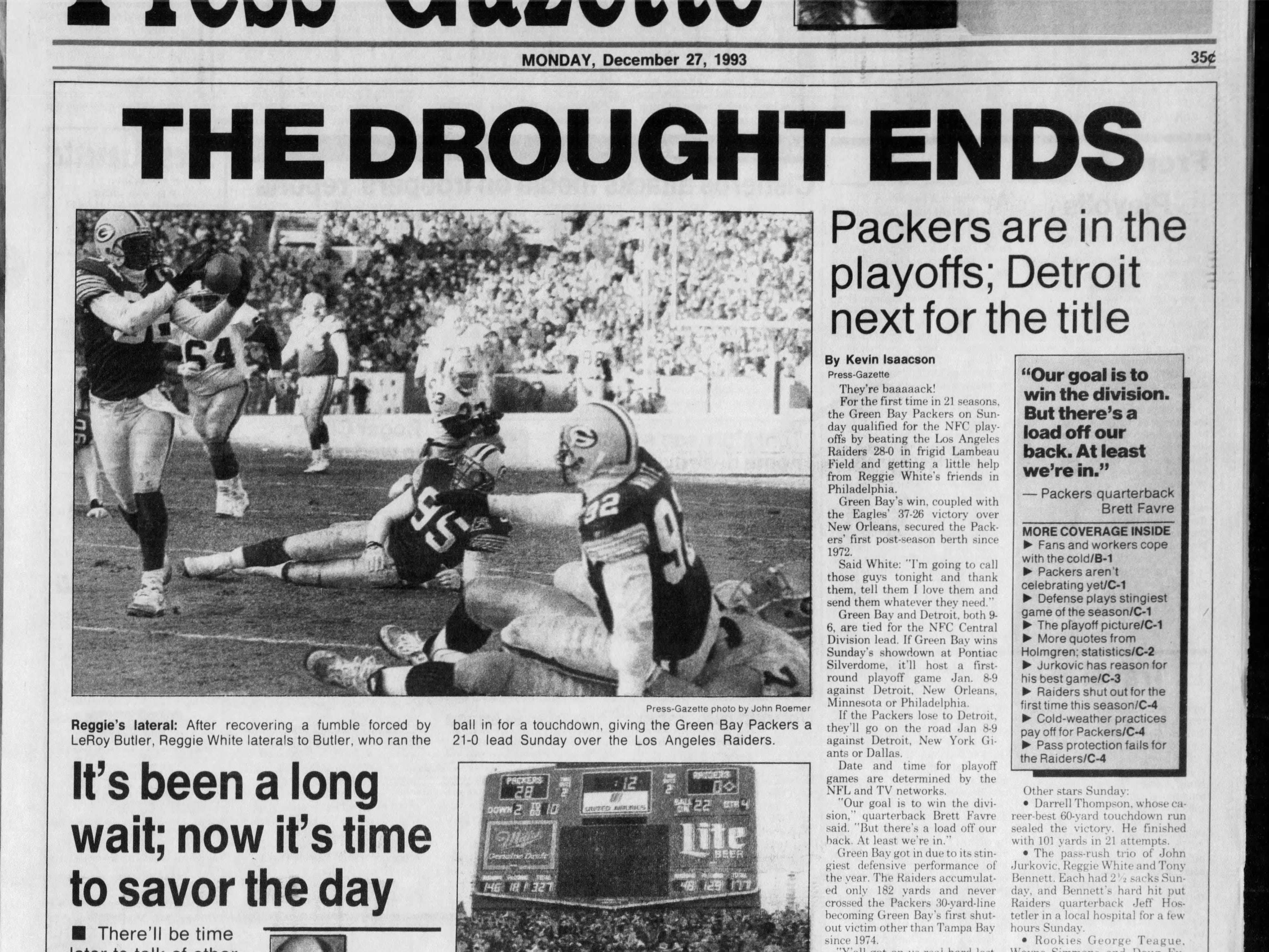 Today in History: Dec. 27, 1993