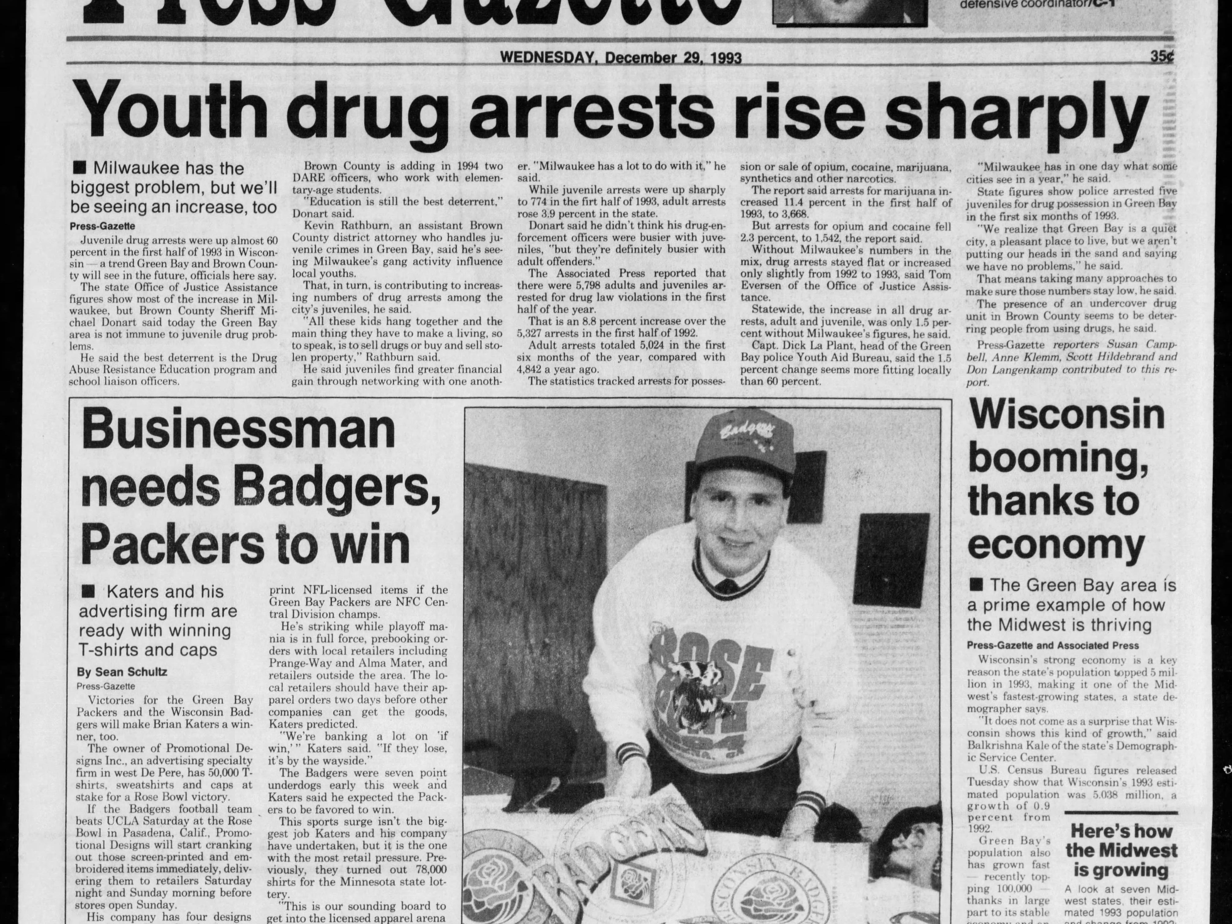Today in History: Dec. 29, 1993