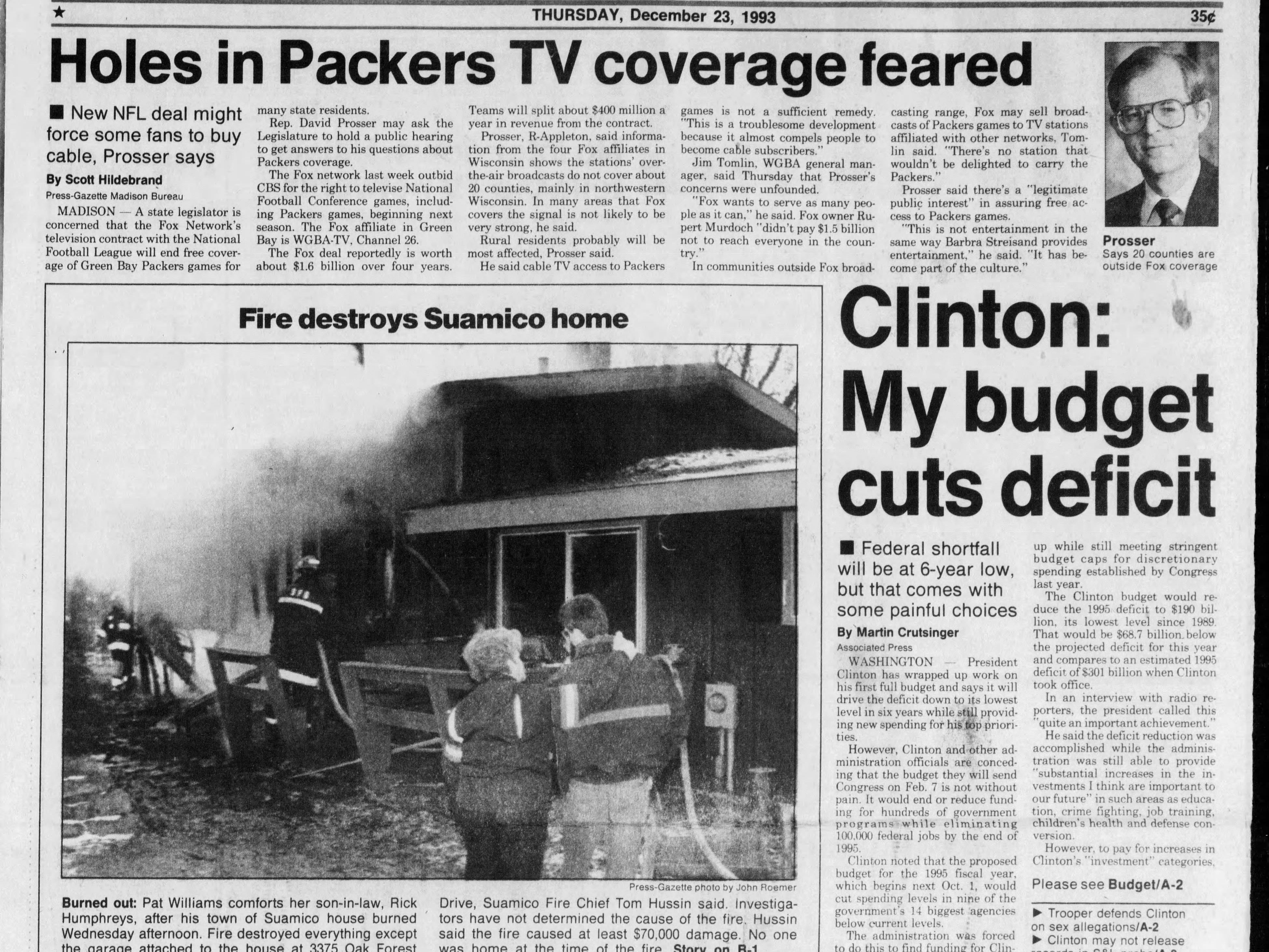Today in History: Dec. 23, 1993