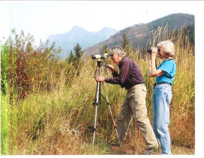 Cal Ryder and his late wife, Irene, have started scholarships for students studying the environment.