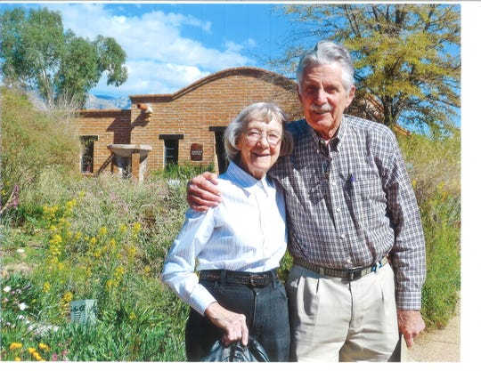Cal Ryder and his late wife, Irene, were active in the outdoors and environment.