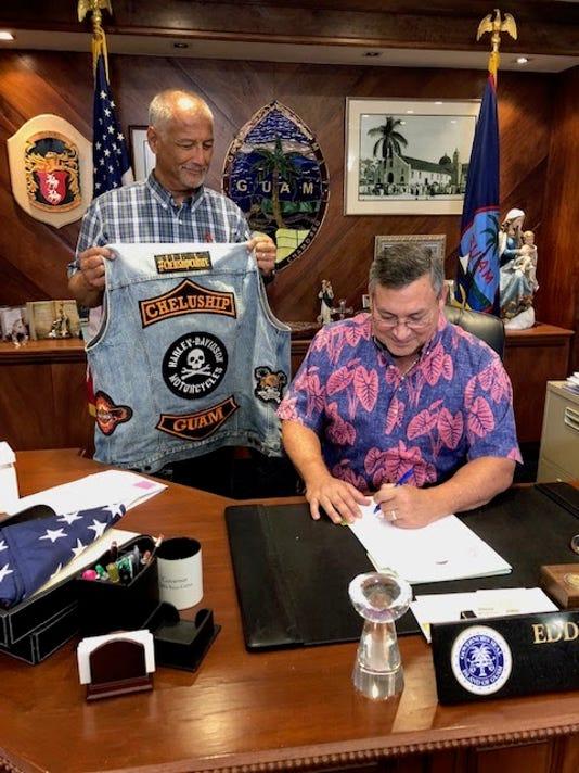 Calvo Law Signing