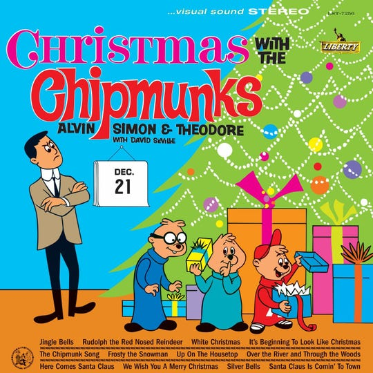 The Chipmunk's 1962 Christmas album remains a classic for kids, or kids at heart.