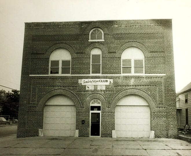 A 1979 photo of former Fire Station No. 2 at 1228 Helm St. when it was being used as the headquarters of Henderson County Senior Citizens Inc. The organization used that building from late 1973 to the fall of 1985, at which time the seniors moved to The Gathering Place at 1817 N. Elm St. in Atkinson Park.
