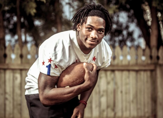 FILE – Jaylon Smith poses for his 2012 IndyStar Mr. Football portrat.