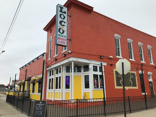Loco Mexican Restaurant opened Dec. 9, 2018, at 1417 Prospect St. in the Fountain Square area of Indianapolis.