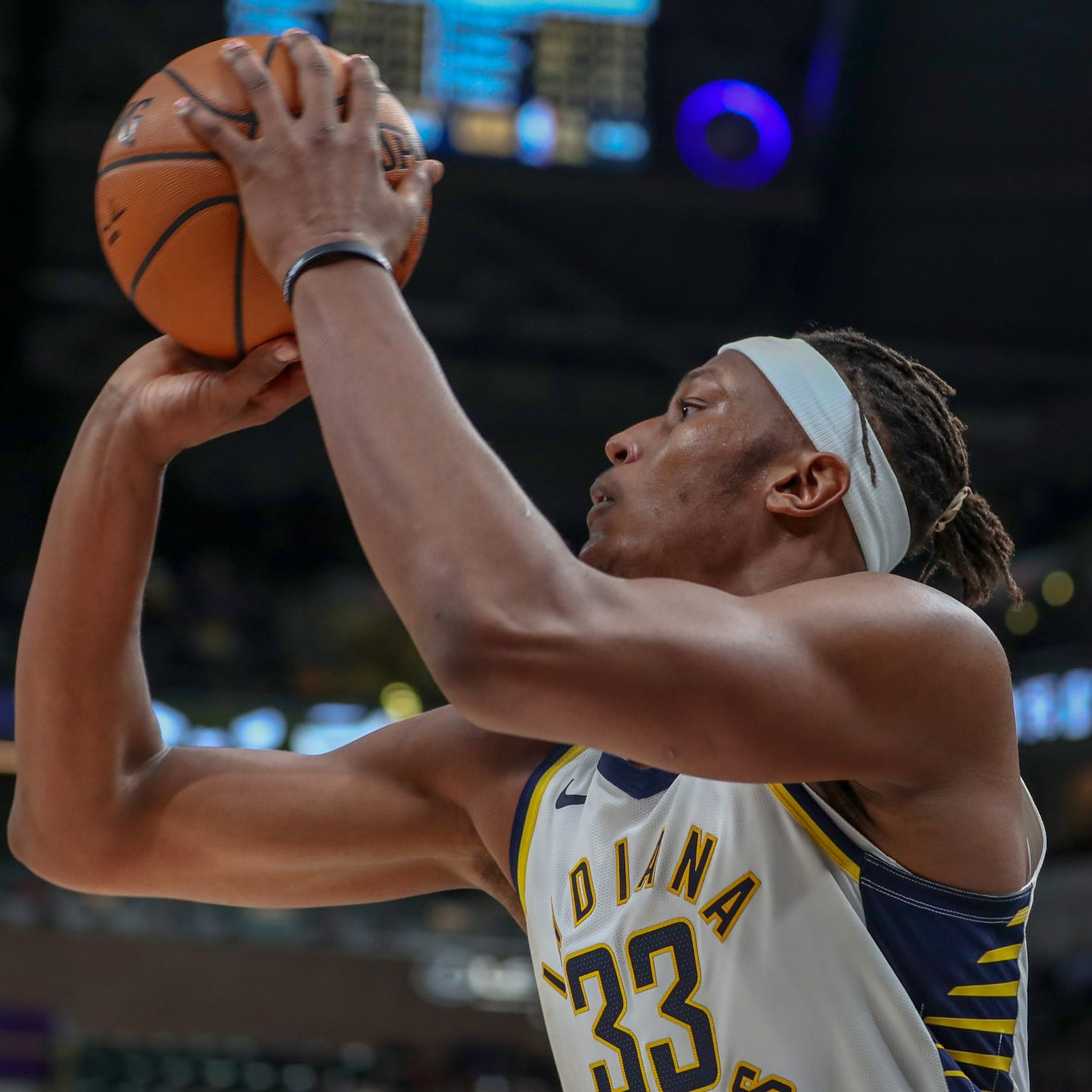 Indiana Pacers players joke Myles Turner's ponytail deserves credit for his success