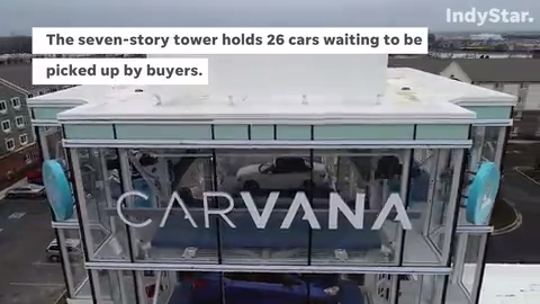 Carvana opened Thursday near I-69 and 82nd Street on Indianapolis' north side. We went inside to learn how to use it.