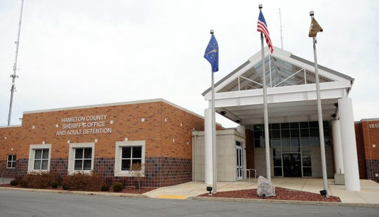 Entrance to the Hamilton County Sheriff's Office, as shown on Thursday, March 3, 2011.