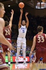 For Jordan Tucker, practices at Duke were harder than the games, he said.