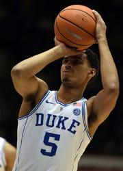 Jordan Tucker played sparingly at Duke before deciding to transfer.