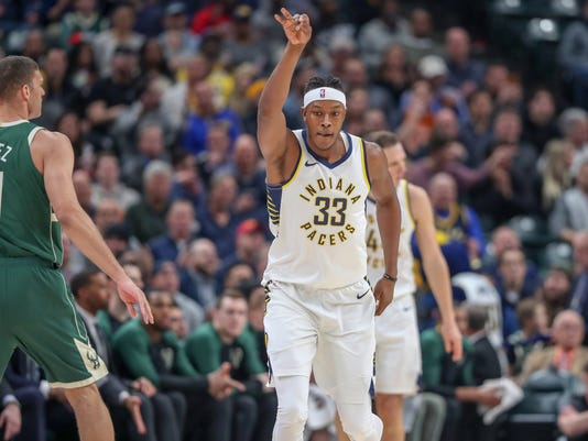 Indiana Pacers Vs Milwaukee Bucks Photos