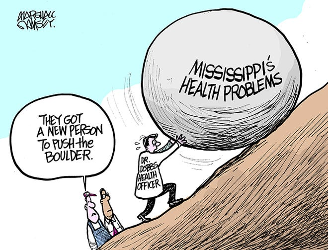 Meet Mississippi's new Health Officer.