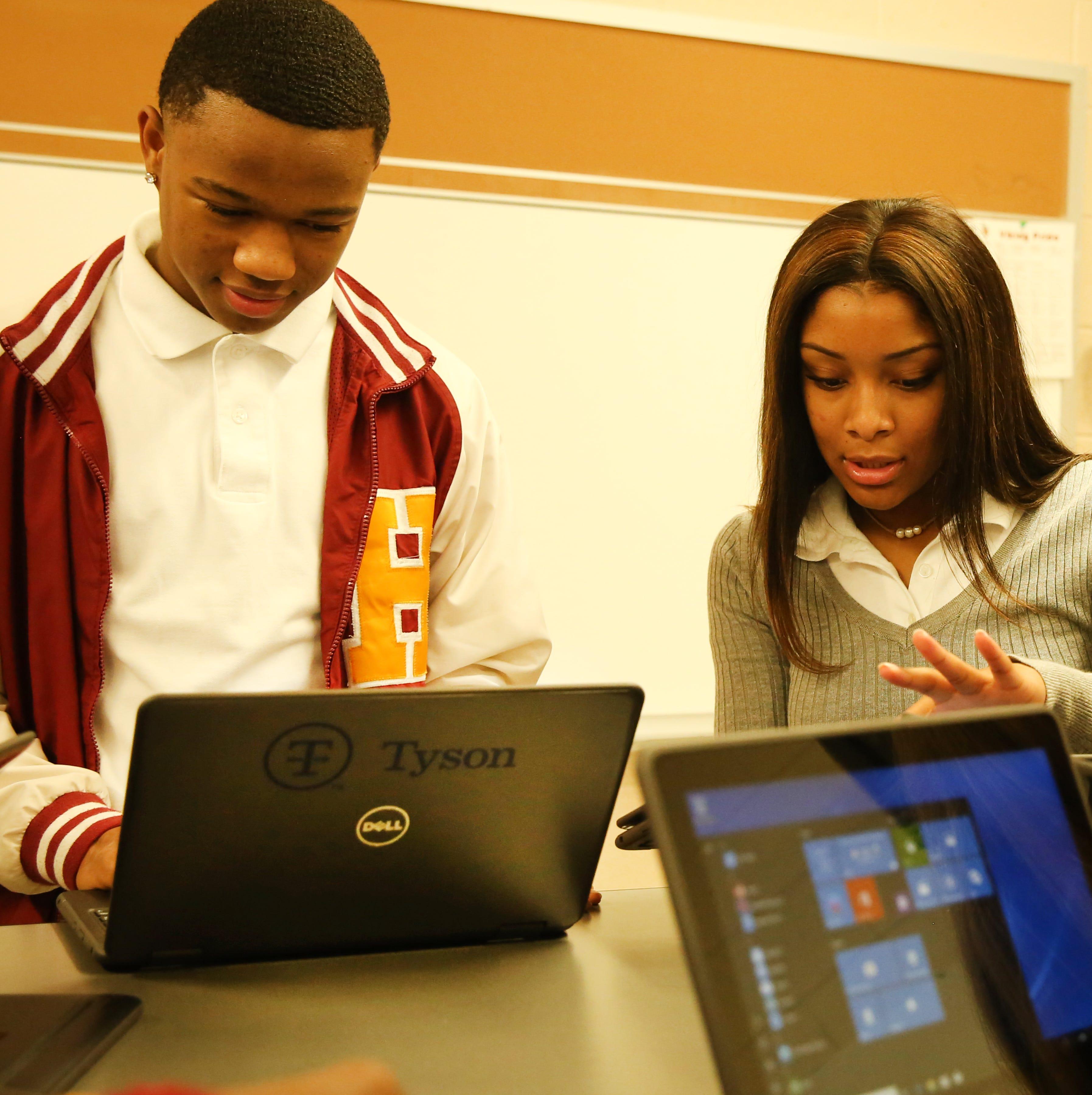 Robotics class gets upgrade from Tyson teacher grants; Tyson donates $500K to Humboldt