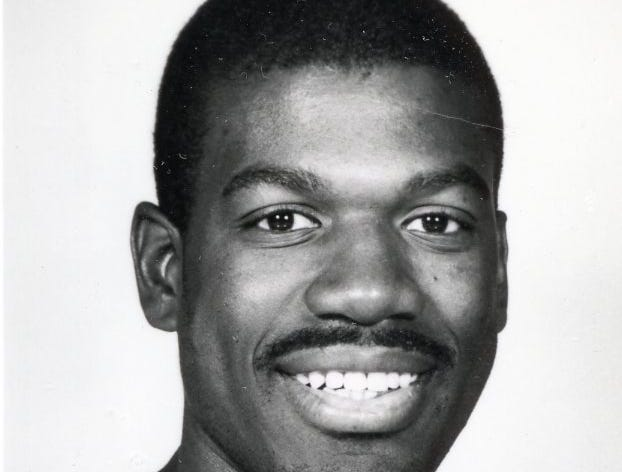 A 1988 NBA head shot of former Vol Bernard King from the Washington Bullets.