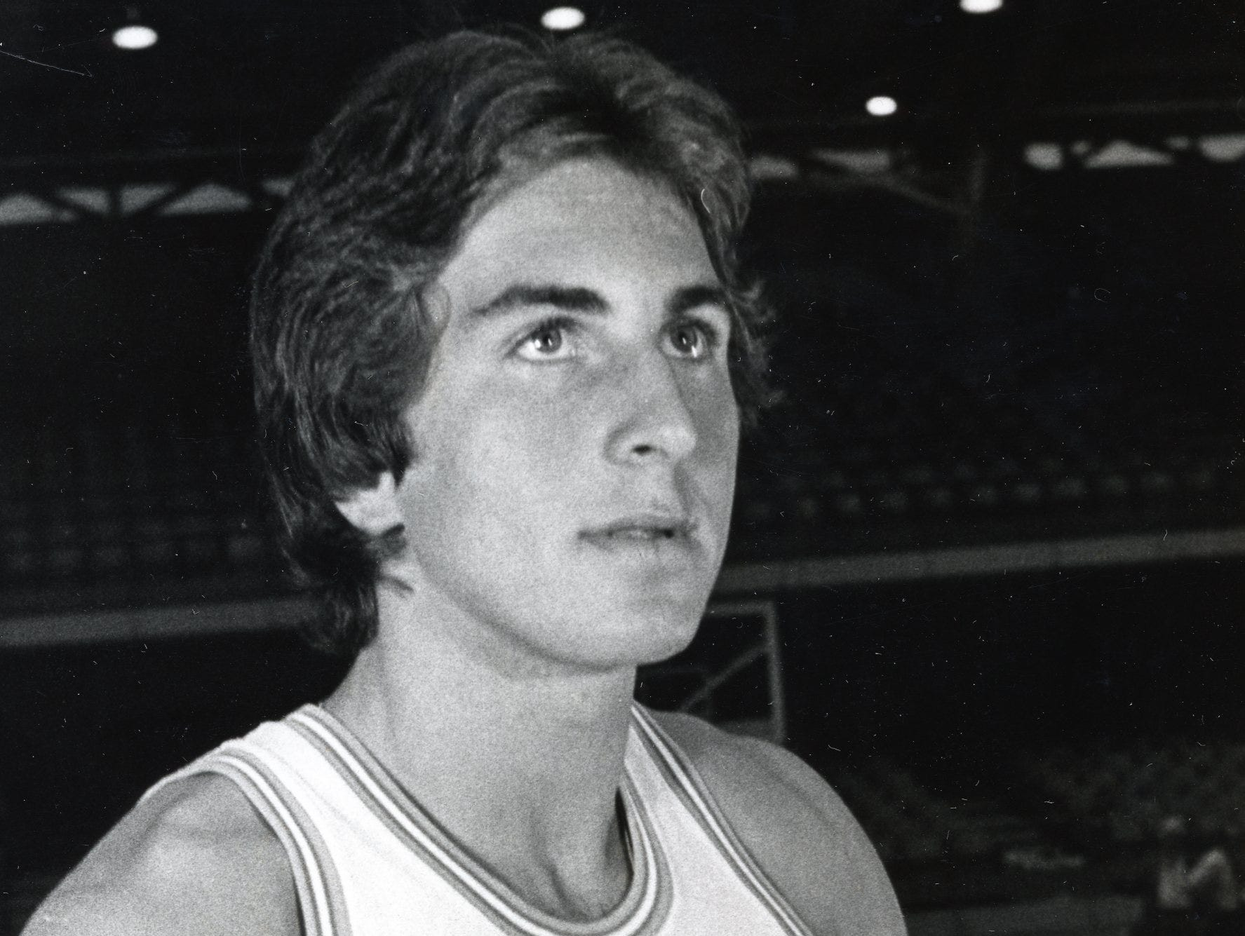 Ernie Grunfeld, October, 1976.