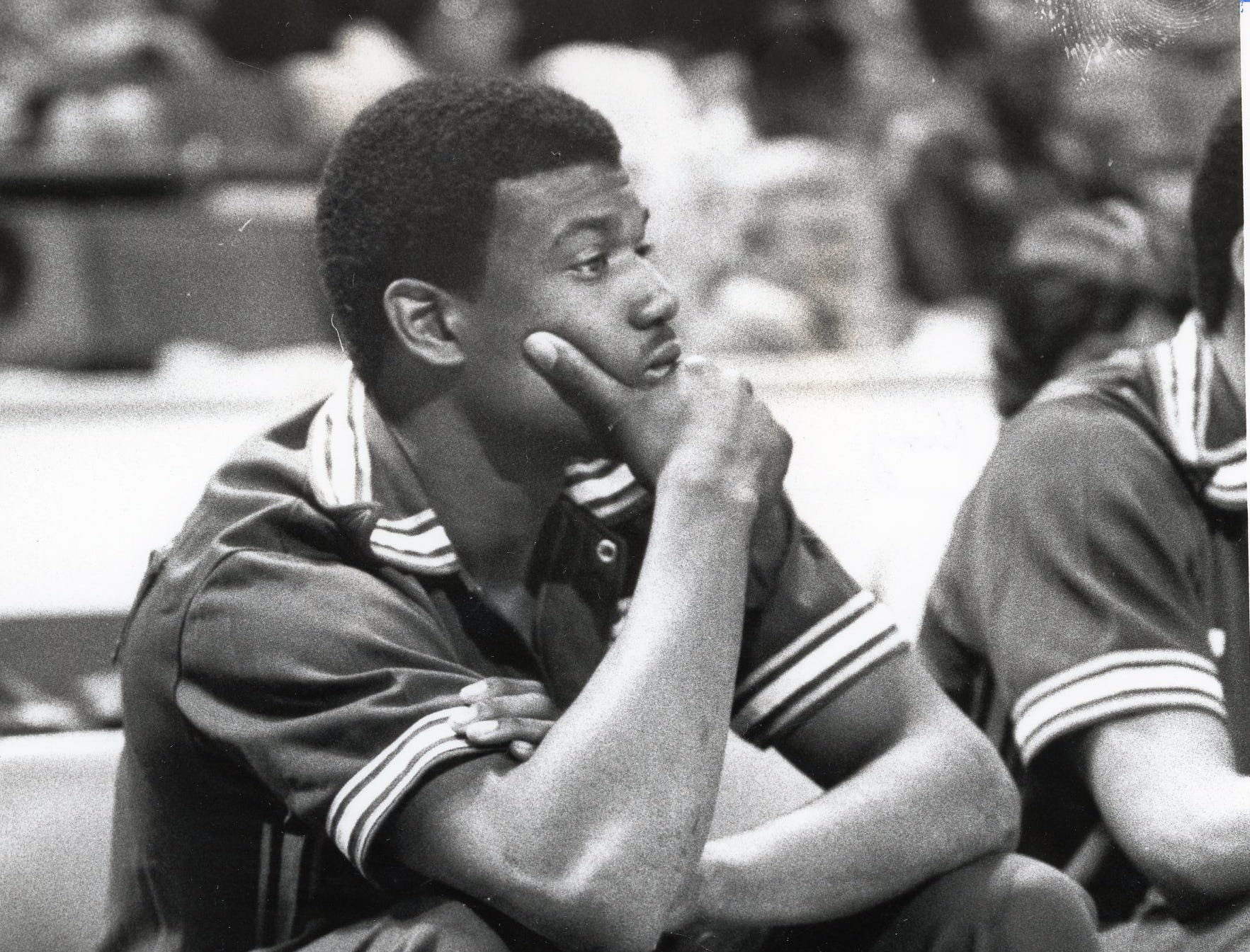 Former Vol Bernard King in the NBA, February, 1981.