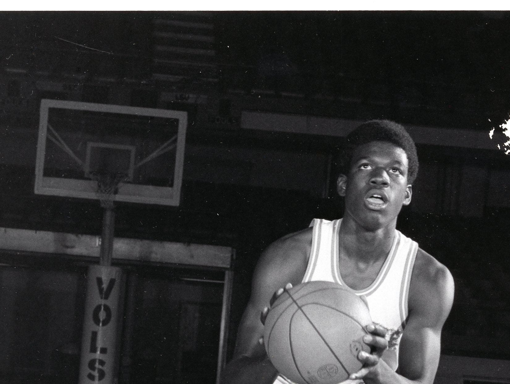 UT Vol Bernard King, February, 1975.