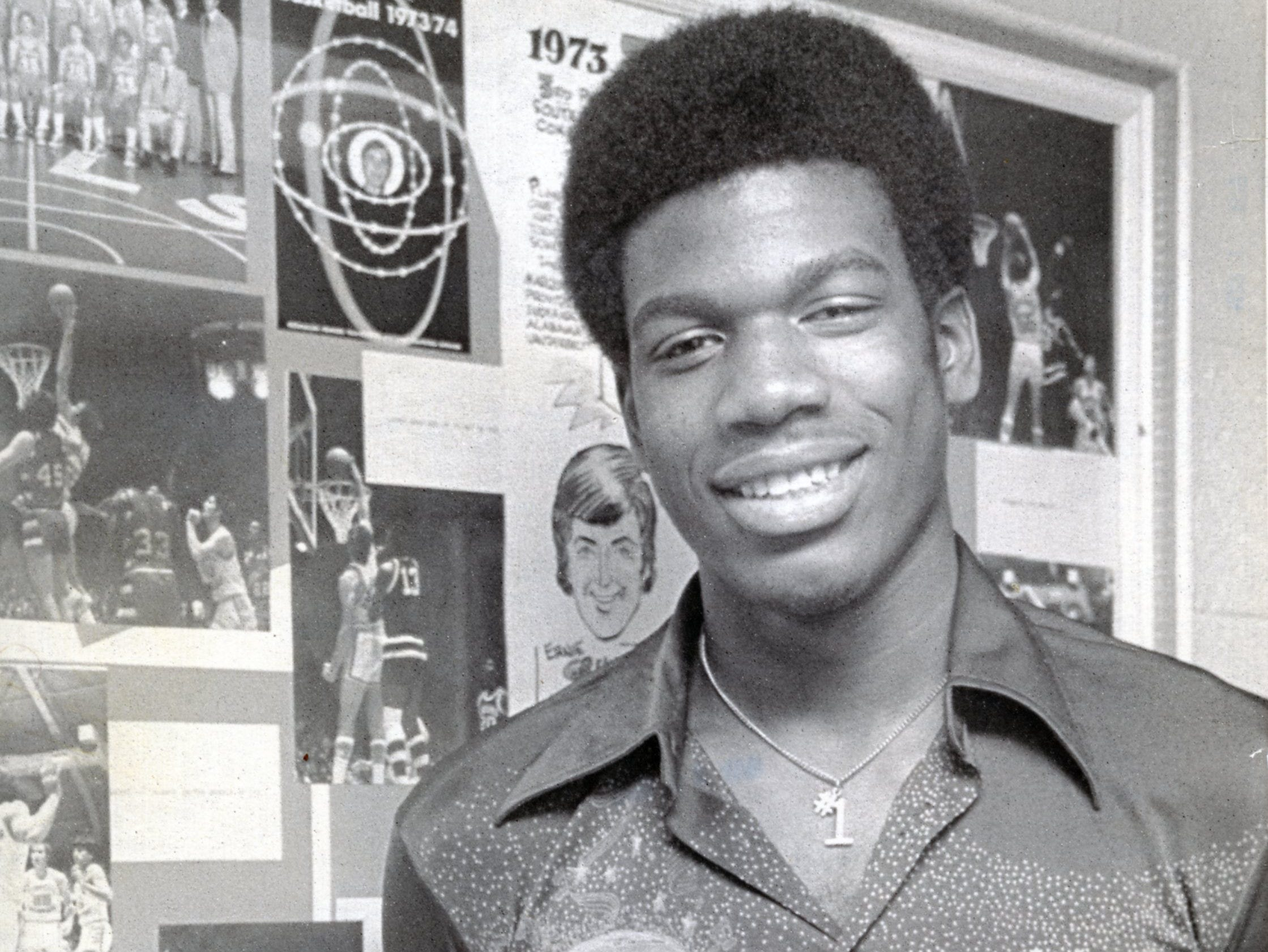 Bernard King was named United Press International's SEC Player of the Year two years in a row. He is pictured in a February, 1976 photo.