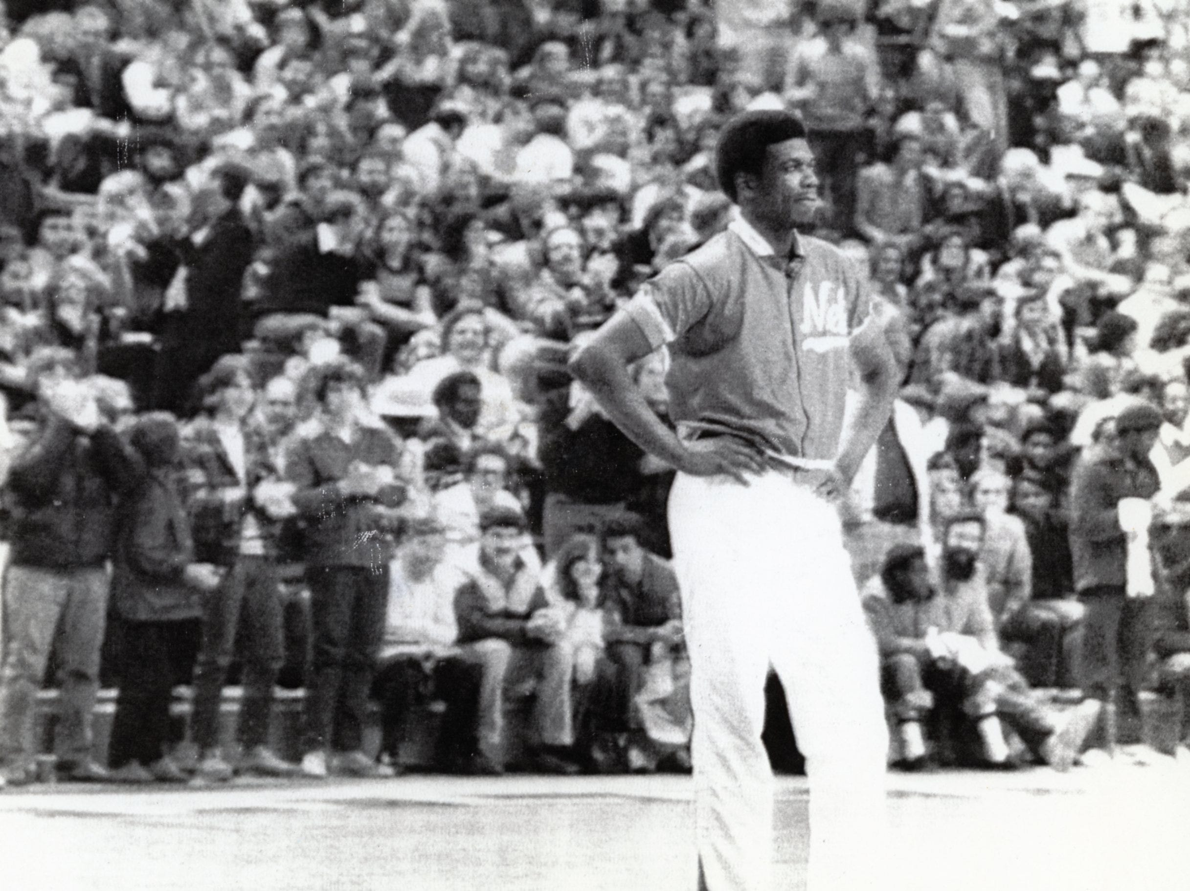 Bernard King of the New Jersey Nets in a December, 1978 photo.