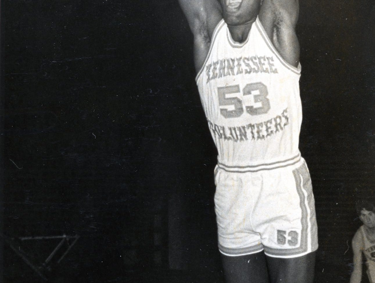 UT Vol Bernard King, November, 1975.