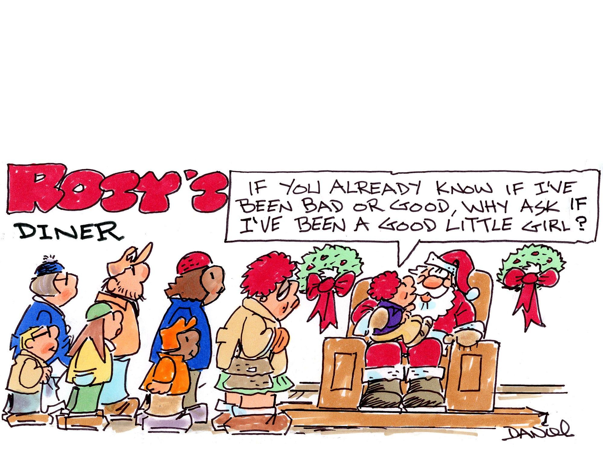 Charlie Daniel cartoon for Dec. 16, 2018