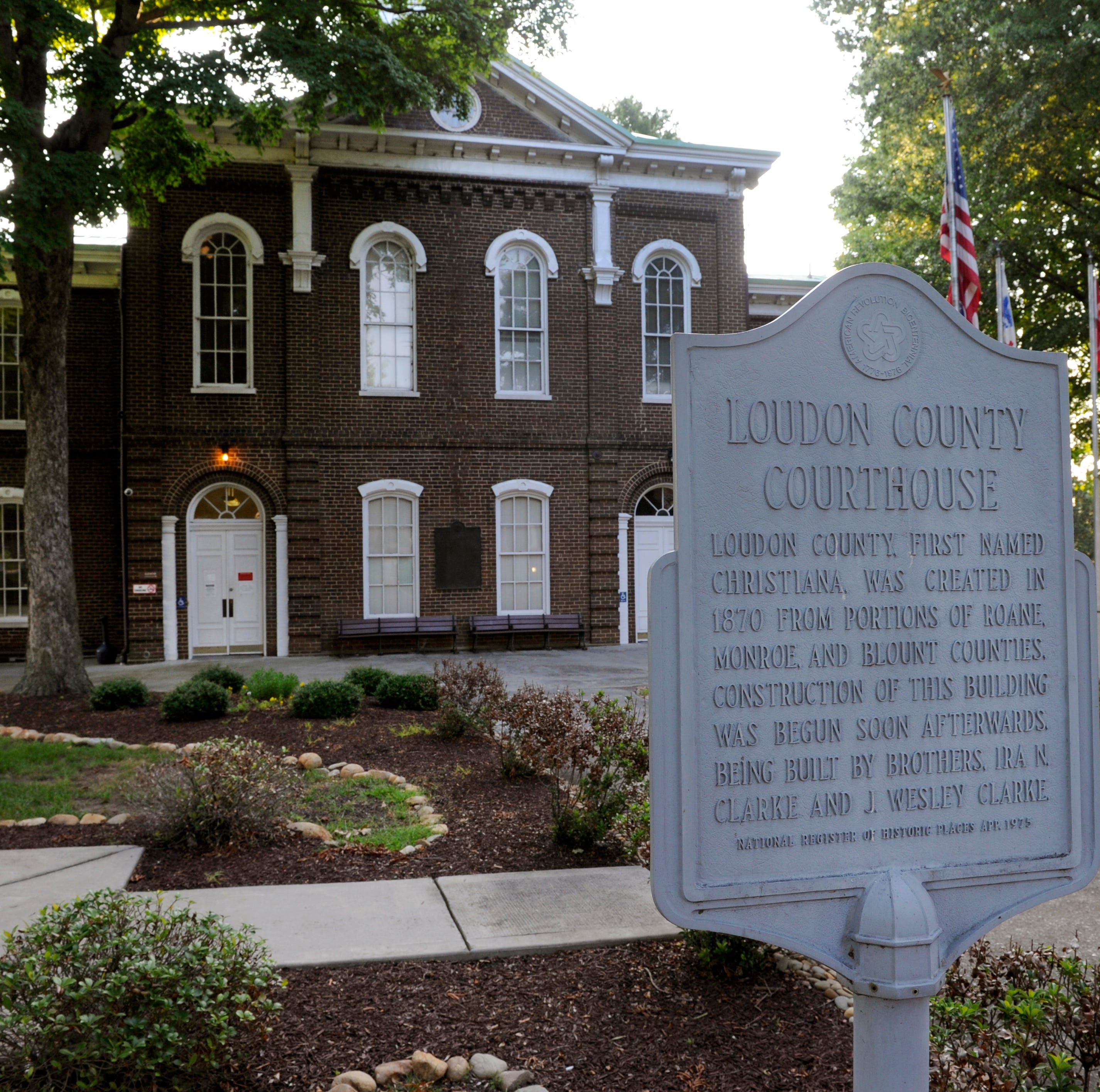 Loudon County Courthouse Wednesday, July 30, 2014.