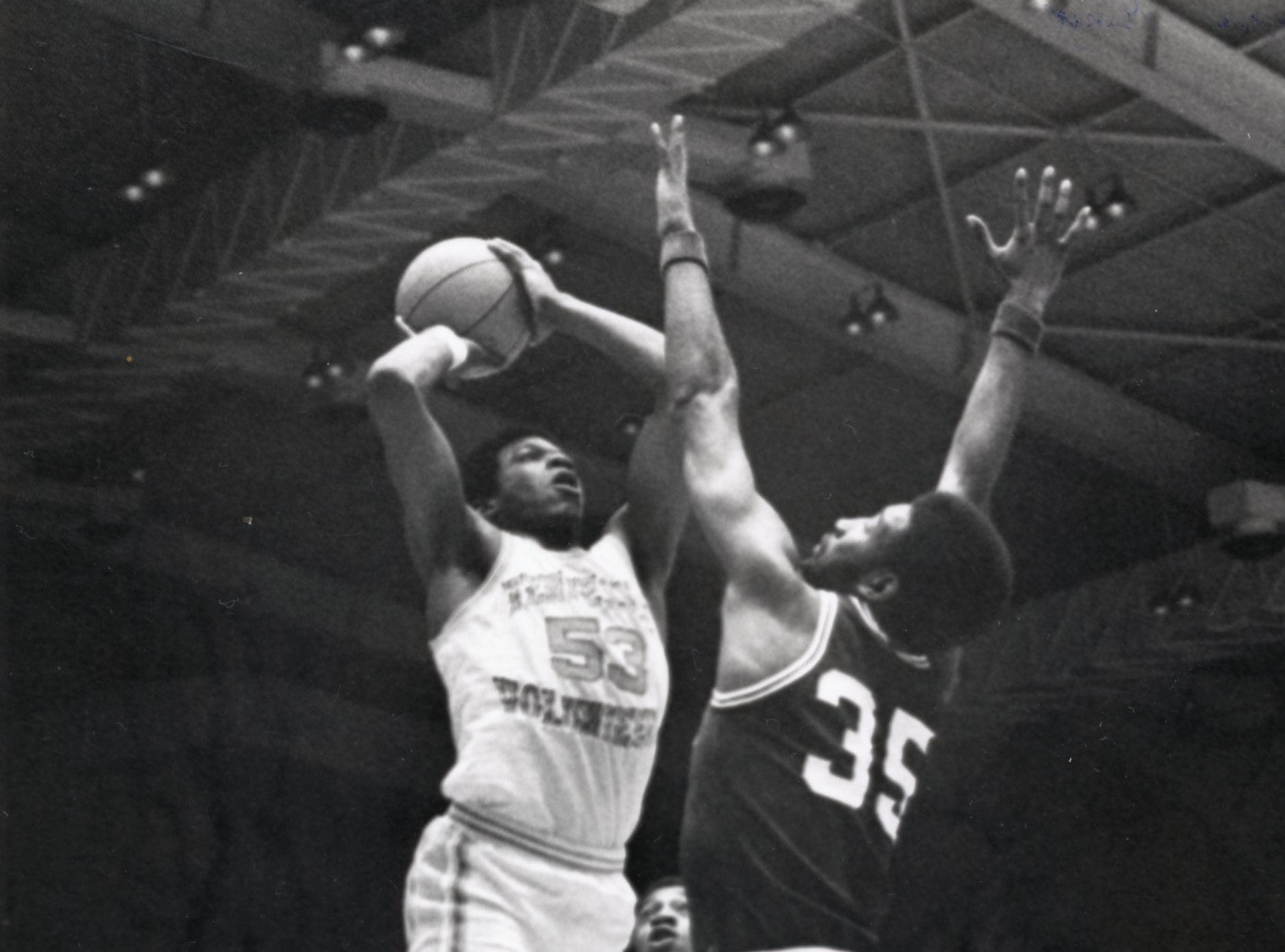 UT Vol Bernard King, 1977