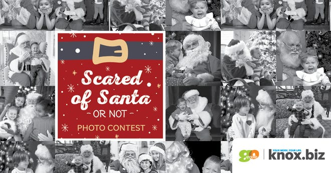 Scared of Santa (or Not) Photo Contest