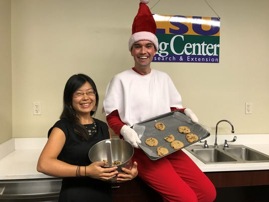 Tabasceaux talks with Wenqing Xu, food safety expert with the LSU AgCenter, about the importance of food safety around the holidays. Tabasceaux learned not to eat raw cookie dough.