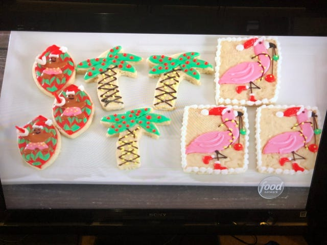 Hartland Baker Competes In Christmas Cookie Challenge On Food Network