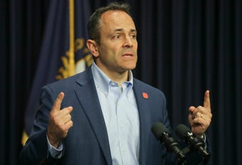 The Kentucky governor is slamming ProPublica and the Courier Journal, and he's also added a Fox News appearance to defend his stance.