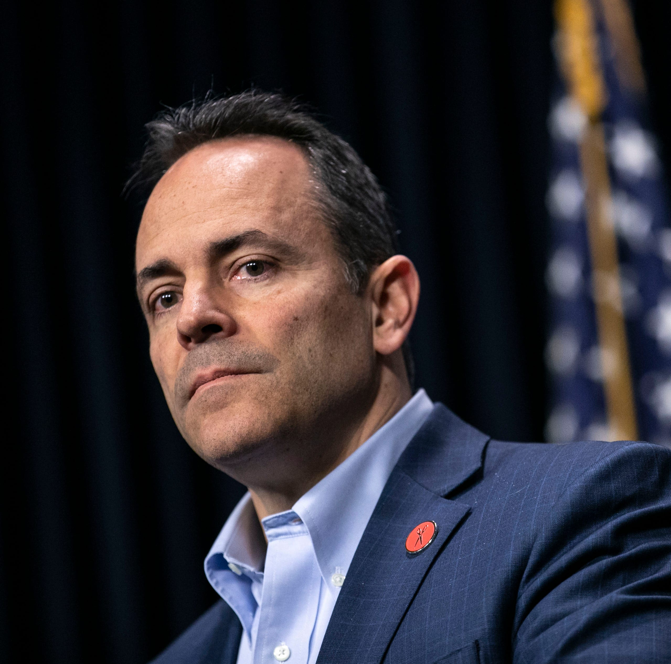 Matt Bevin makes surprise announcement on Kentucky's financial future