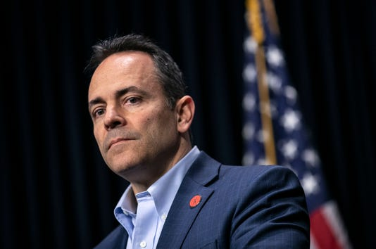 Gov Matt Bevin On Pension Reform Law
