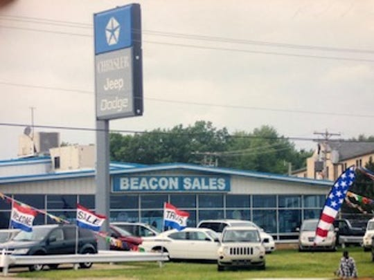 Beacon Sales & Service lost its franchise agreement with Chrysler in 2009 when the automaker filed for bankruptcy.