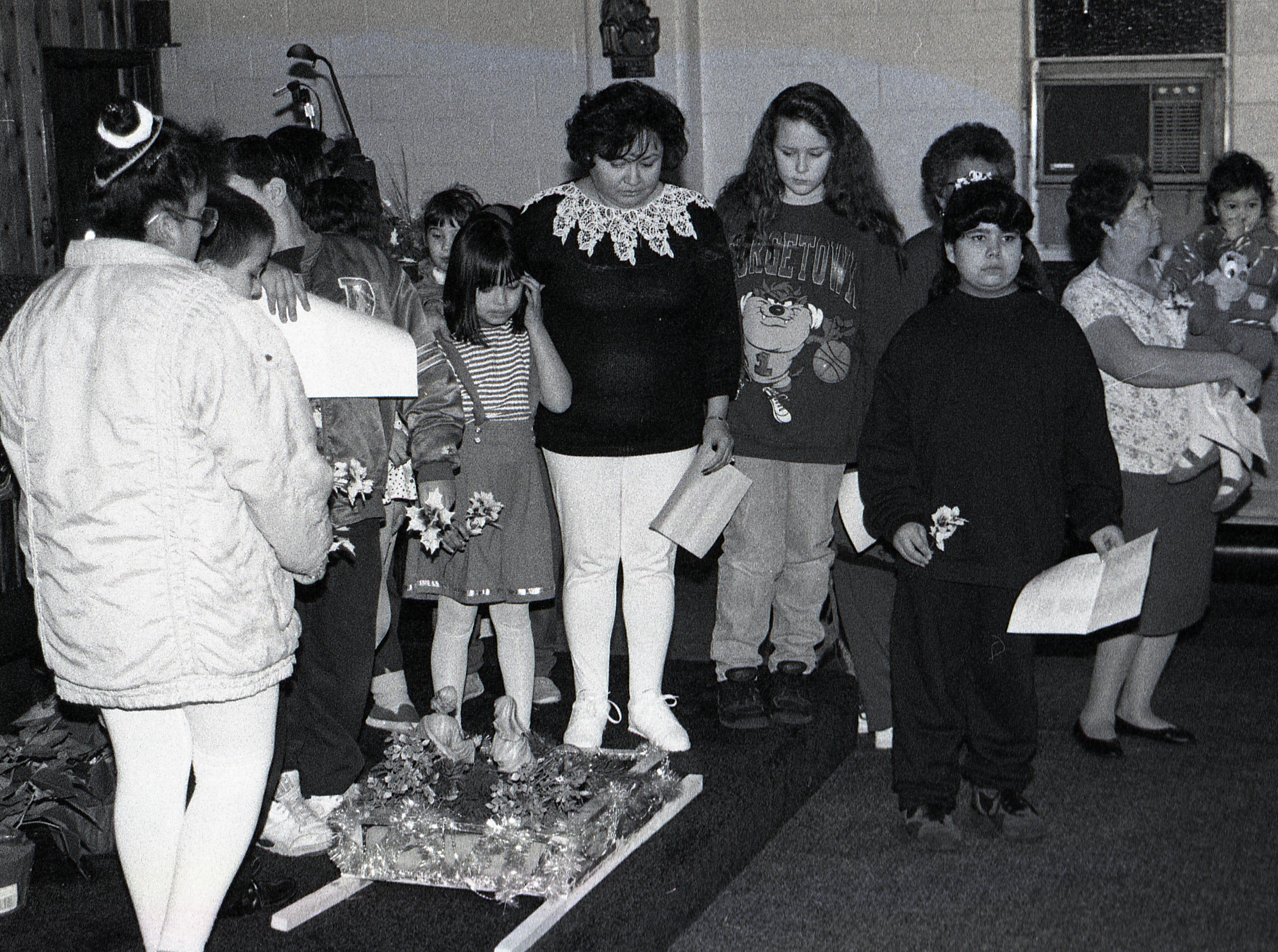 Latin American Christmas festival at Cristo Rey Church, 1994.