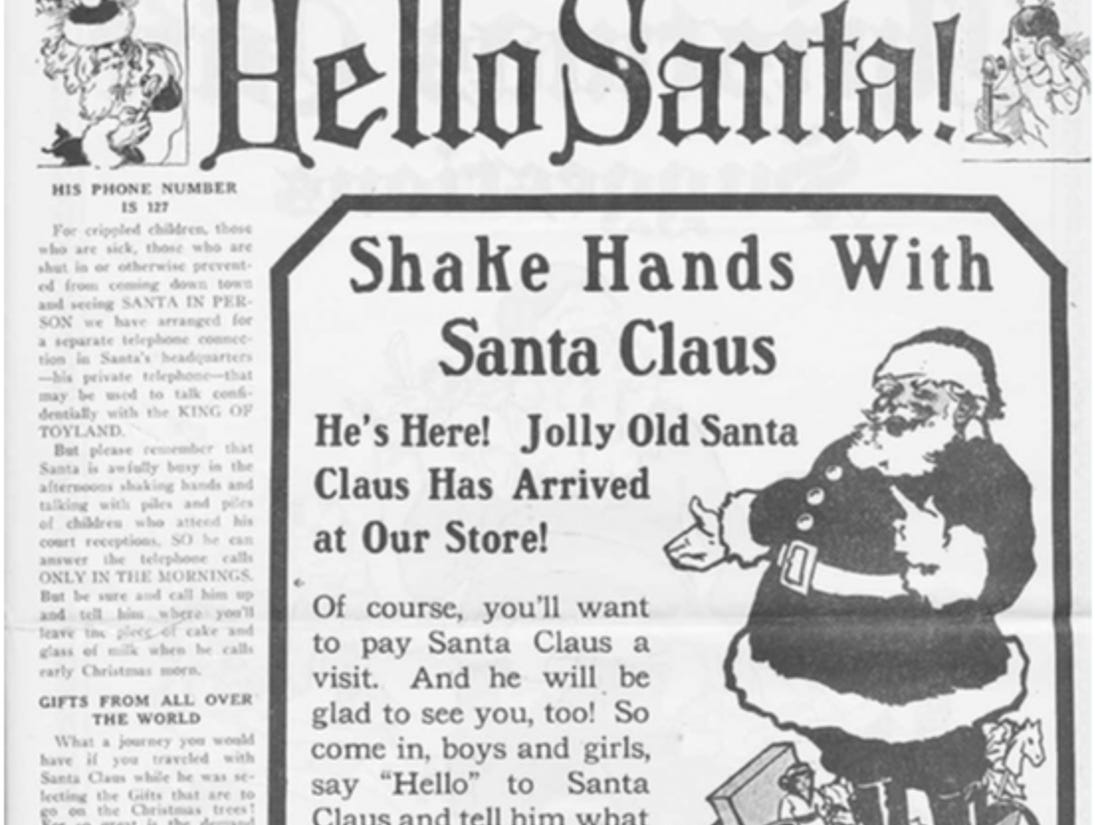 J.W. Knapp 1924 Christmas Gift catalog, page 2.