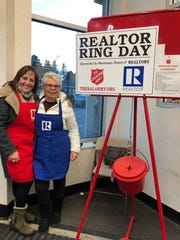 Manitowoc County Board of Realtors and its affiliates participated in Realtor Ring Day in Manitowoc County Dec. 7.