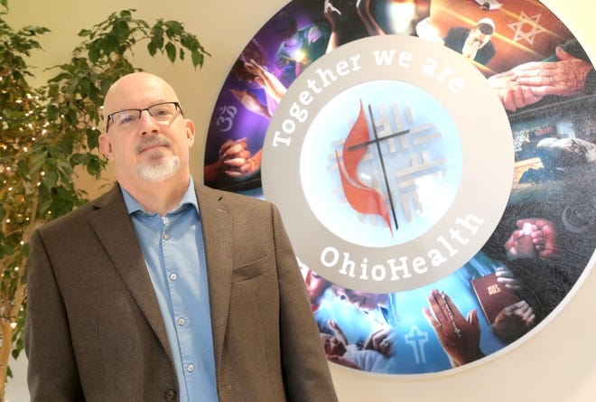 Chris Mason is a chaplain at OhioHealth Mansfield campus.