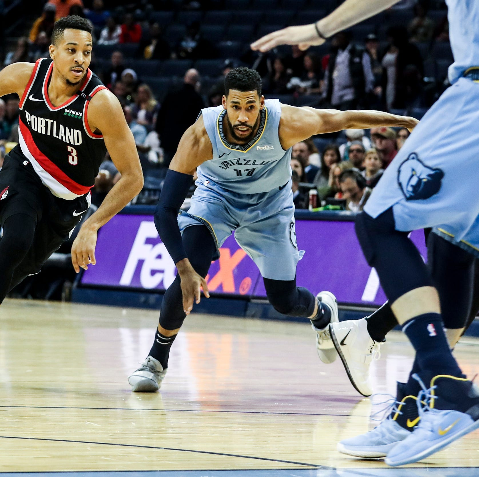 Grizzlies drag Portland into mud for a 92-83 win