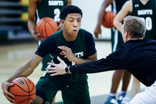 Briarcrest Christian School sophomore point guard Kennedy Chandler, has a number of DI scholarship offers.