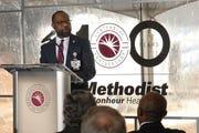 Methodist Le Bonheur Healthcare President/CEO Michael Ugwueke