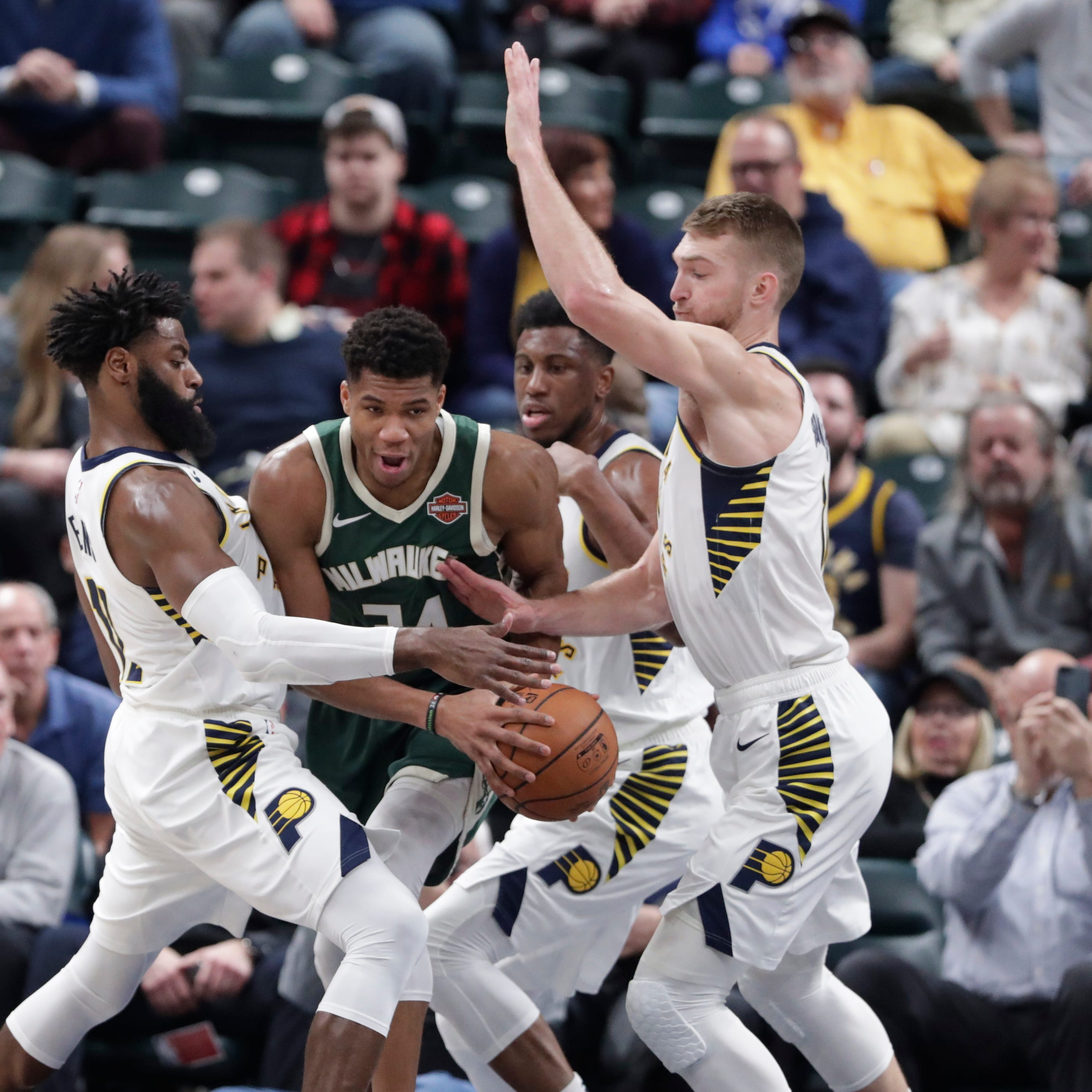 Pacers 113, Bucks 97: Unable to find a way around clogged lanes