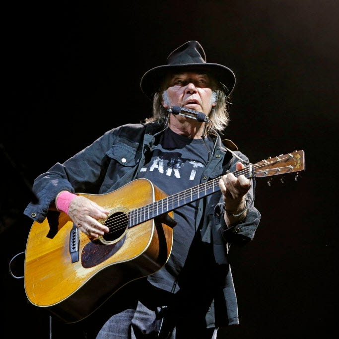 Neil Young playing intimate solo shows in Milwaukee and Madison in January